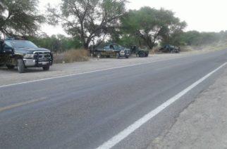 En alerta policía de Teocaltiche, Jalisco por presencia de personas armadas