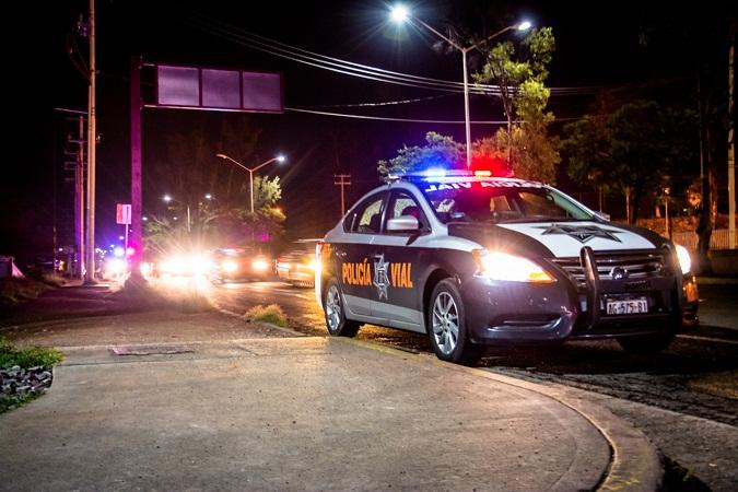 Escolta Policía Vial de Ags. traslado de recién nacido con problemas de respiración