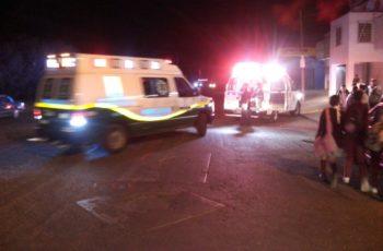 Accidente vehicular deja 3 heridos graves en Norias de Ojocaliente, Ags.