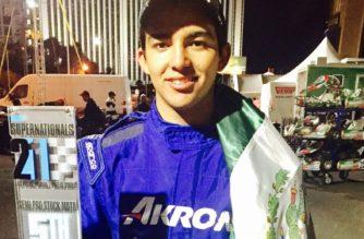 Piloto de Aguascalientes hace historia en el Kartismo internacional