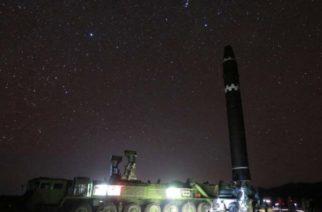 Inician EU y Corea del Sur maniobras tras misil norcoreano