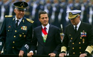 Peña declara la guerra a México
