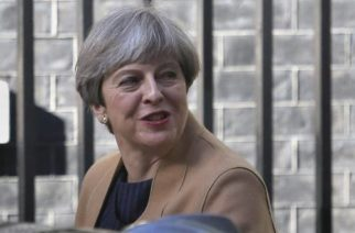 Frustran atentado en contra de primera ministra británica Theresa