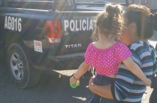 Localizan a niña de 2 años extraviada