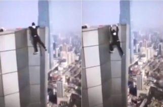 Muere youtuber chino al caer de rascacielos cuando cumplía un reto
