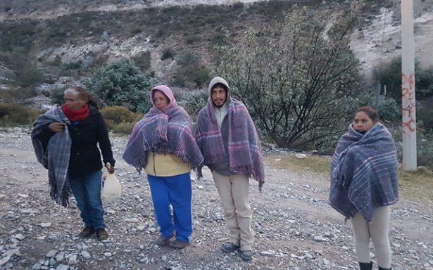 Cerca de 30 familias en Asientos están en riesgo por bajas temperaturas
