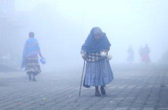 Prevén lluvias y bajas temperaturas en Ags y gran parte del país