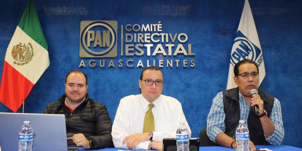 Aprueba el PAN Ags plataforma electoral legislativa 2018-2021.