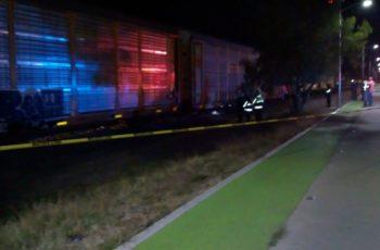 Se suicidó al arrojarse al paso del tren en Aguascalientes