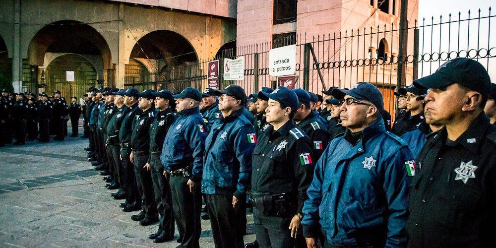 Lista la Secretaría de Seguridad Pública Municipal para la Feria de San Marcos
