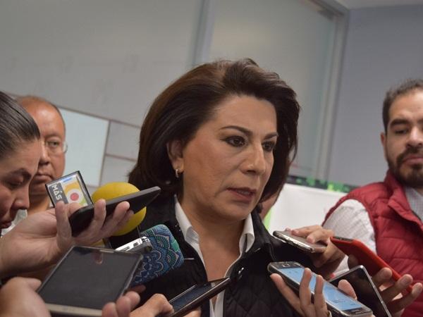 Implora Lorena Martínez no salir a buscar el voto