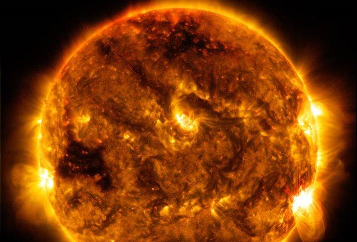 El sol está perdiendo su color amarillo y podría afectar al planeta
