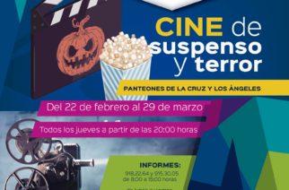 Panteones de la capital se convertirán en salas de cine de suspenso y terror