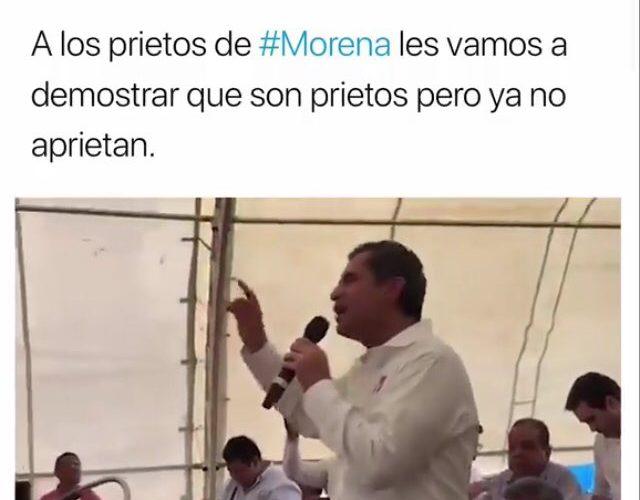 Los prietos de Morena