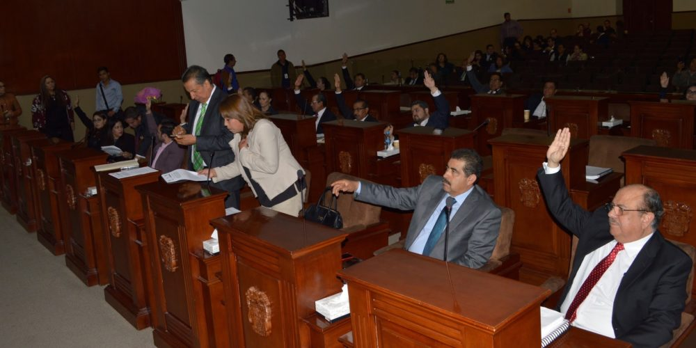 Avala Congreso quinteta para elegir fiscal de Aguascalientes