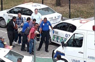 Balacera en la UNAM deja como saldo a dos lesionados