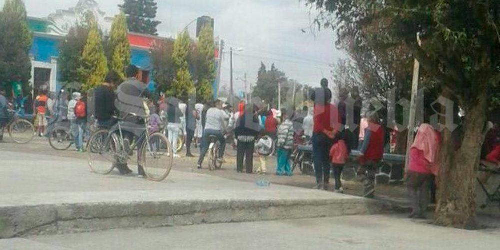 En Puebla linchan a un hombre que fue sorprendido robando