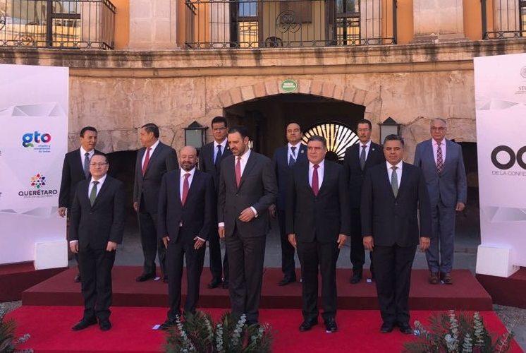 Se reúnen secretarios de seguridad pública estatal de entidades del occidente