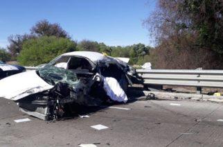 1 muerto y 1 herido deja accidente en límites de Zacatecas con Ags