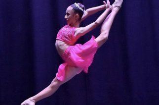 Niña de Aguascalientes gana oro en concurso de danza internacional