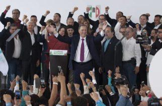 """Al acudir al Instituto Nacional Electoral para solicitar su registro, José Antonio Meade Kuribreña se comprometió a """"recuperar la tranquilidad del país y a construir un México de oportunidades"""""""