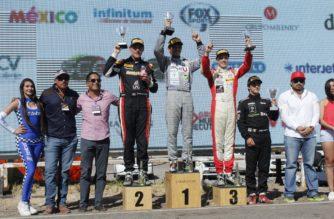 Con par de podios en Ags el tapatío Moi de la Vara sigue al frente de la FIA F4