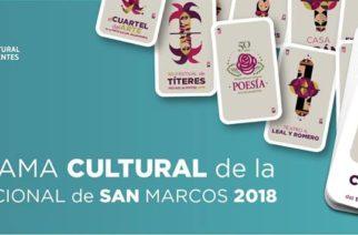 Checa aquí el Programa Cultural de la Feria de San Marcos 2018