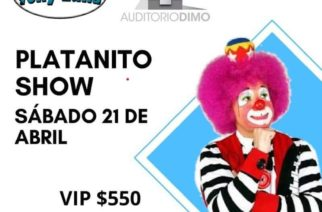 Se presenta Platanito Show este sábado en El Lugar de Tony Luna