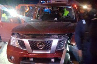 4 lesionados deja aparatoso accidente en la 45 Norte en Rincón de Romos