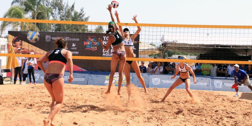 Cierra de gran forma torneo de voleibol de playa internacional en Ags