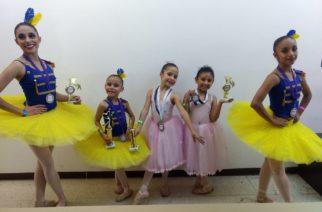 Niñas de Ags ganan primeros lugares en concurso de danza internacional en Gdl