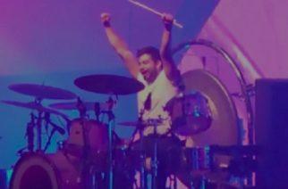 Conoce a José Luis, el fan que tocó la batería en concierto de The Killers