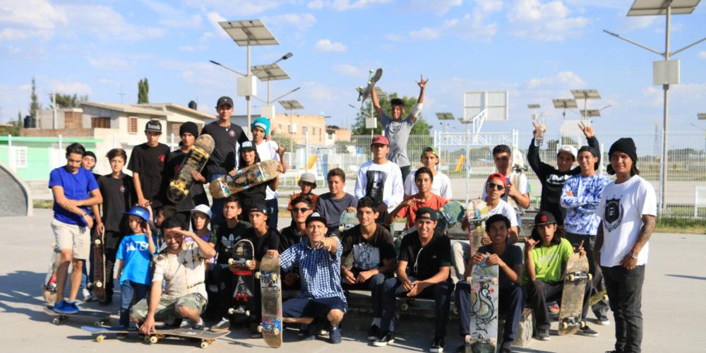 Se desarrolló con éxito torneo estatal de skate en Pabellón de Arteaga