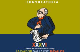 Abre convocatoria al 34 Premio Nacional de Literatura Joven Salvador Gallardo Dávalos