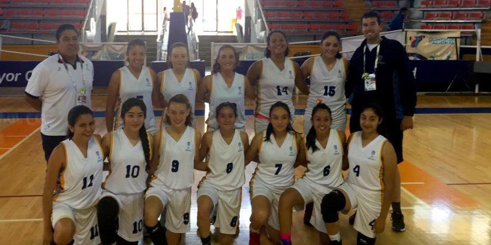 Equipos de basquetbol de Ags inician ganando en Olimpiada Nacional
