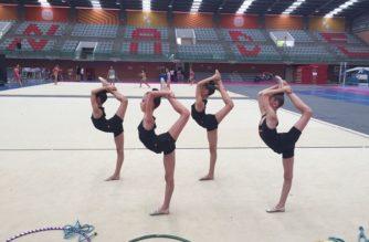 Logra Aguascalientes pase a la Olimpiada Nacional en gimnasia rítmica