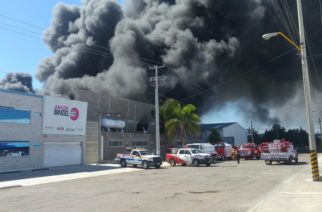 Estudia GobAgs viables sanciones a empresa por incendio del domingo