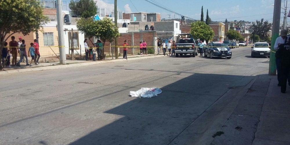 Muere niño de 3 años atropellado en Aguascalientes