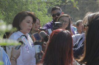 Se compromete Lorena Martínez a buscar recursos para rehabilitar el río San Pedro