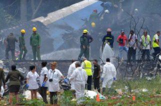 Más de 100 muertos deja accidente de avión en Cuba