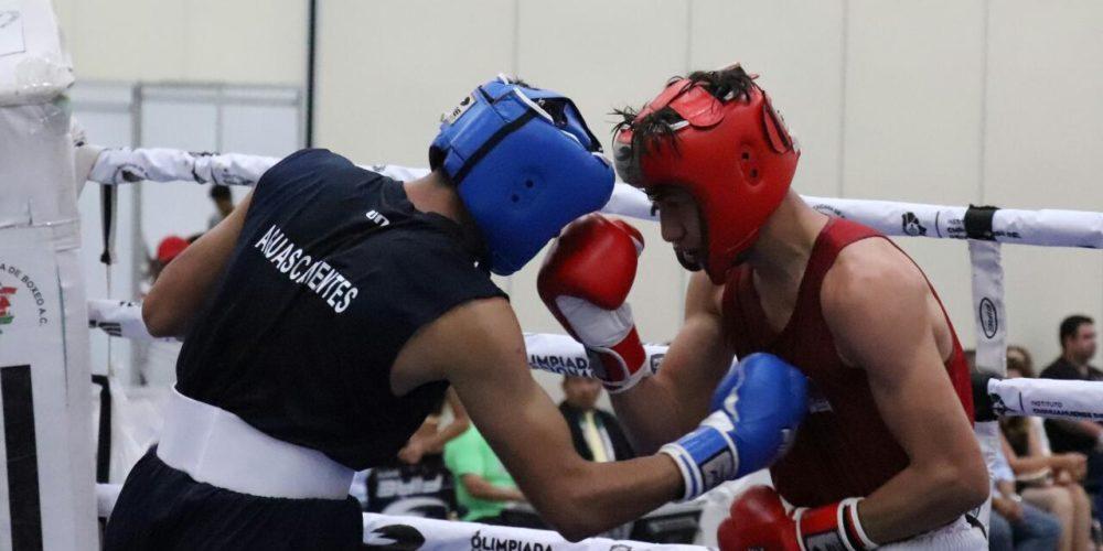 7 medallas gana selección de box de Ags en ON2018