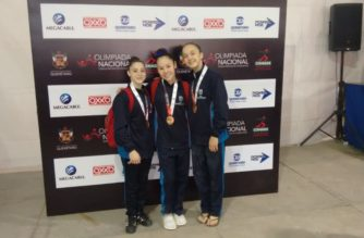 Gimnastas de Ags ganan bronce en ON2018