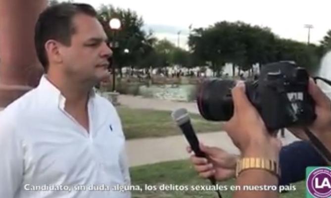 """Propone candidato a diputado """"mochar"""" pene a violadores en México"""