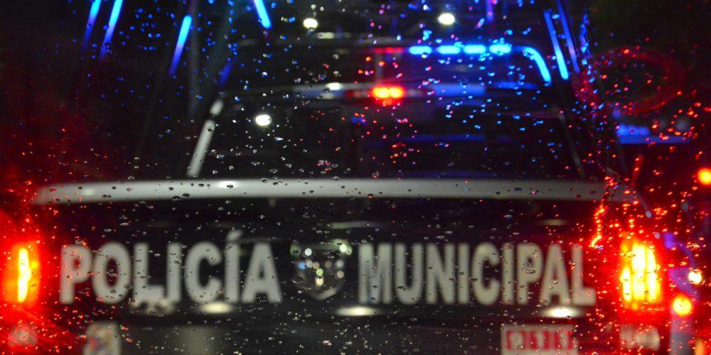 Refuerza operativos Policía Municipal por lluvias