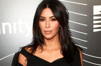 Aparece Kim Kardashian con vestido transparente
