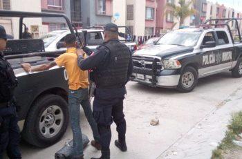 Detienen en Aguascalientes a sujeto buscado por homicidio en Querétaro