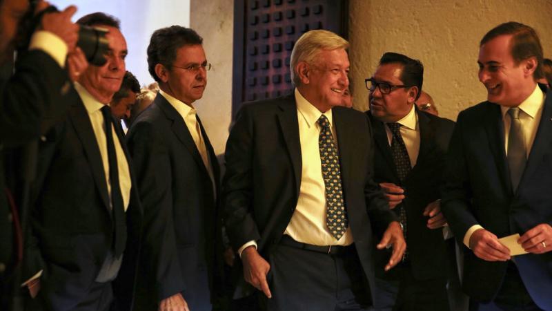 AMLO confirma reunión de alto nivel con secretarios de EU el próximo viernes