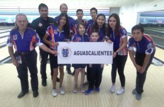 Jóvenes bolichistas de Aguascalientes ganan 4 medallas en campeonato nacional