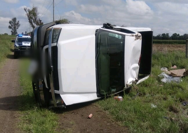 Pierde la vida conductor de camioneta en Rincón de Romos, Ags.