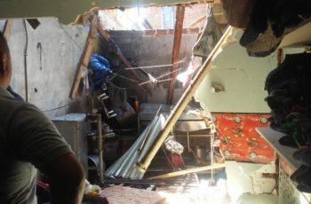 6 lesionados deja flamazo en vivienda en La Barranca